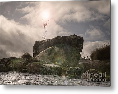 To Hold The Light Metal Print