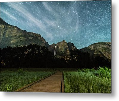 To The Falls Metal Print by Kristopher Schoenleber