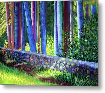 To The Left Of The Entrance To New Pond Farm Metal Print
