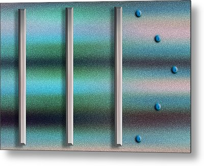 To The Right Metal Print by Paul Wear