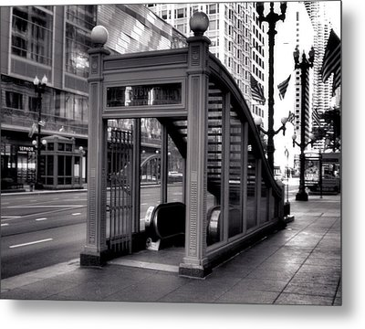 To The Subway - 2 Metal Print by Ely Arsha