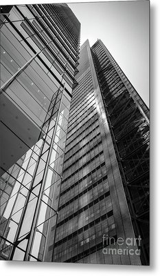 To The Top   -27870-bw Metal Print