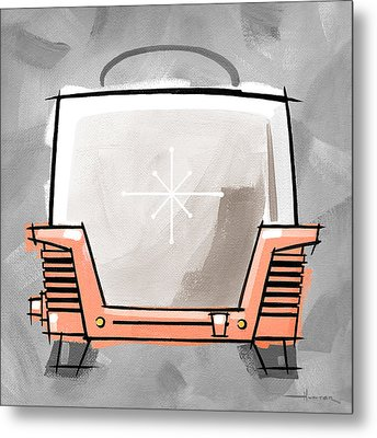 Toaster Coral Metal Print by Larry Hunter