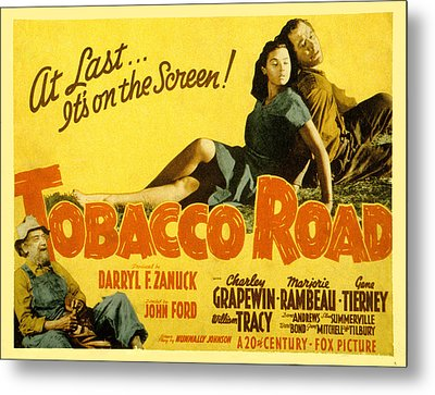 Tobacco Road, Charley Grapewin, Aka Metal Print