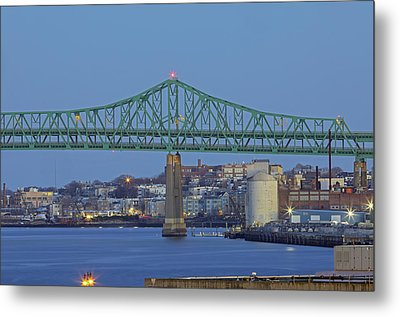 Tobin Bridge Metal Print