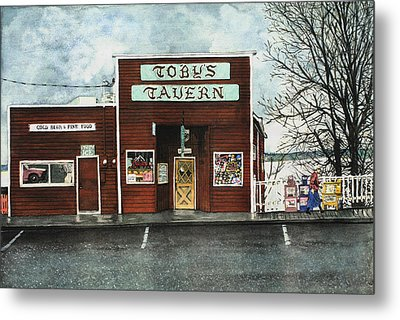 Toby's Metal Print by Perry Woodfin