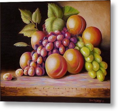 Metal Print featuring the painting Todays Harvest by Gene Gregory