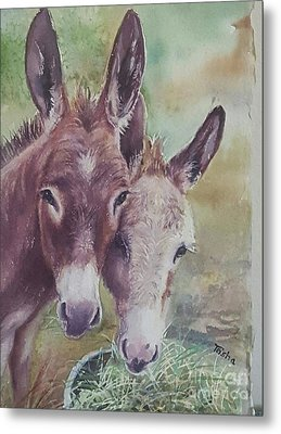 Together Always Metal Print by Patricia Pushaw