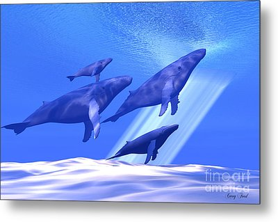 Together Metal Print by Corey Ford