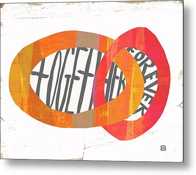 Together Forever Metal Print by Lisa Weedn