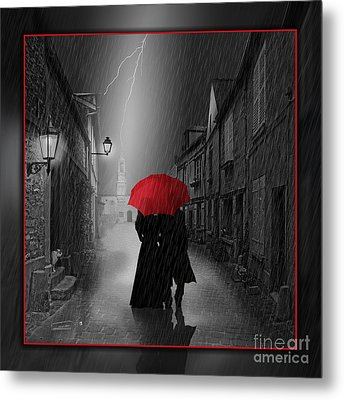 Together Forever Metal Print by Monika Juengling