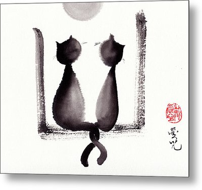 Together We'll Grow Old Metal Print by Oiyee At Oystudio