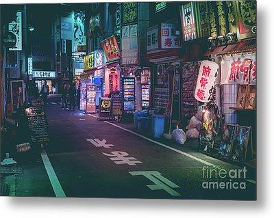 Tokyo Side Streets, Japan Metal Print
