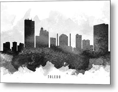 Toledo Cityscape 11 Metal Print by Aged Pixel