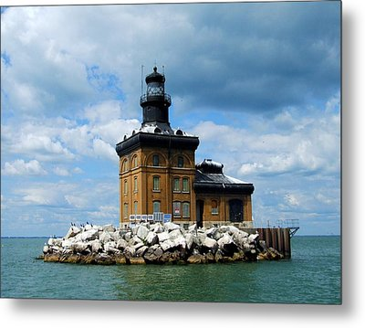 Metal Print featuring the photograph Toledo Harbor Lighthouse by Michiale Schneider