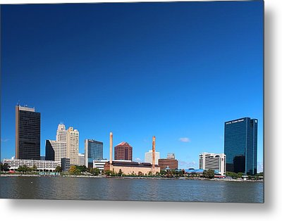Metal Print featuring the photograph Toledo Skyline I by Michiale Schneider