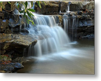 Metal Print featuring the photograph Tolliver Fall by Dung Ma