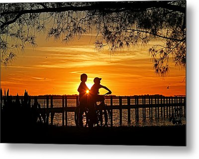 Tom And Huck Metal Print by HH Photography of Florida