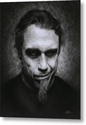 Tom Araya Metal Print
