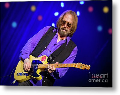 Tom Petty And The Heartbreakers Metal Print by Garland Johnson
