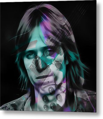 Metal Print featuring the mixed media Tom Petty Rock Royalty by Marvin Blaine