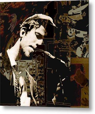Tom Waits Metal Print