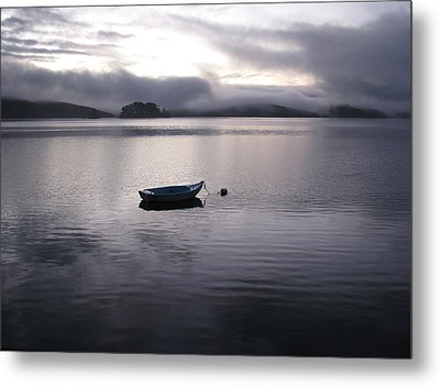 Tomales Bay At Sunset Metal Print