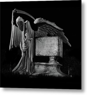 Metal Print featuring the mixed media Tomas Riddle Tomb Harry Potter by Gina Dsgn