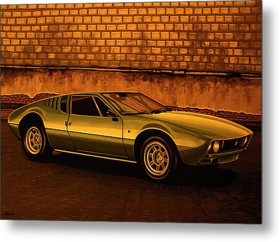 Tomaso Mangusta Mixed Media Metal Print by Paul Meijering