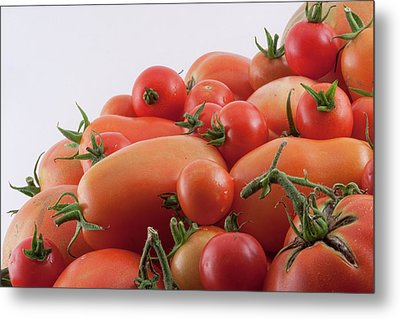 Metal Print featuring the photograph Tomato Hill by James BO Insogna