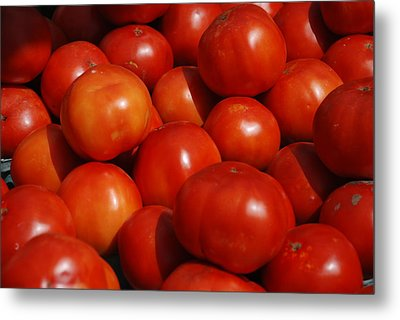 Tomatoes Metal Print by William Thomas