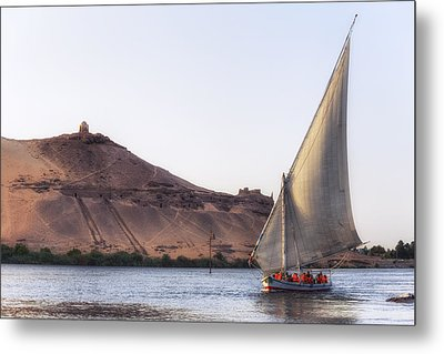 Tombs Of The Nobles - Egypt Metal Print by Joana Kruse