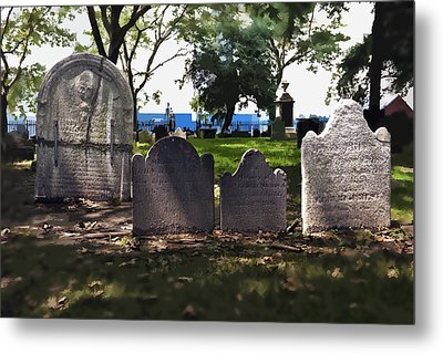 Tombstones Metal Print by Kelley King