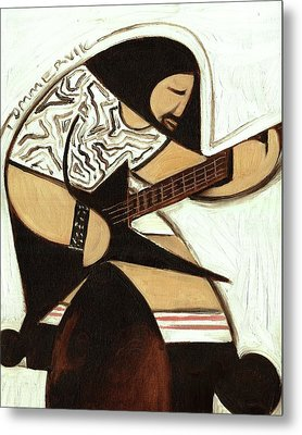 Metal Print featuring the painting Tommervik Rocker Art Print by Tommervik