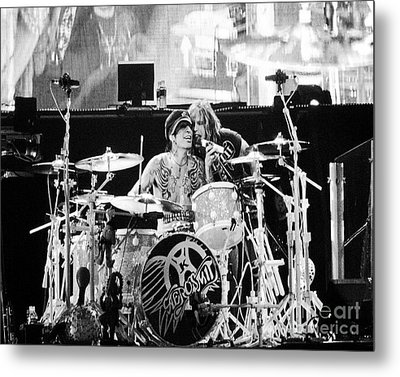 Tommy And Steven Metal Print by Traci Cottingham