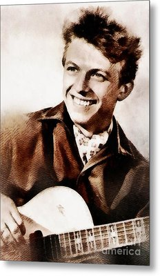 Tommy Steele, British Actor And Singer Metal Print by John Springfield