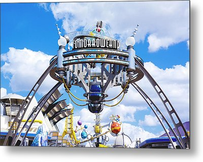 Metal Print featuring the photograph Tomorrowland by Greg Fortier