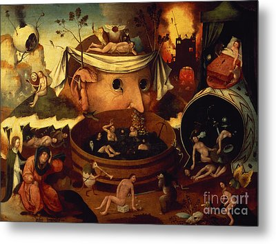 Tondals Vision Metal Print by Hieronymus Bosch