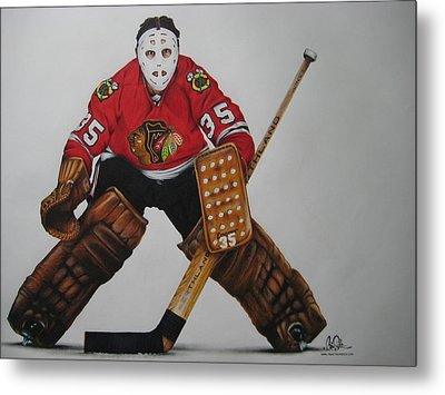 Tony Esposito Metal Print by Brian Schuster