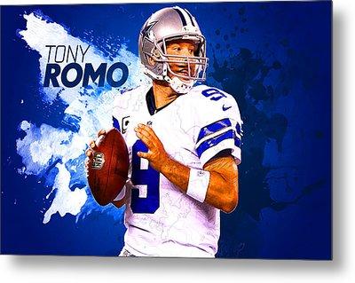 Tony Romo Metal Print