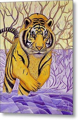 Tony Tiger Metal Print by Joseph J Stevens