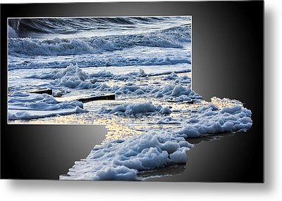Too Big For The Frame Metal Print by Allan Levin