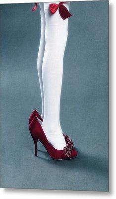 Too Big Shoes Metal Print by Joana Kruse