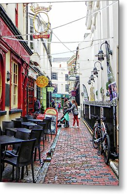 Too Early To Eat In The Lanes Brighton Metal Print by Dorothy Berry-Lound