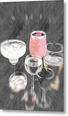 Metal Print featuring the photograph Too Many To Drive by Sherry Hallemeier