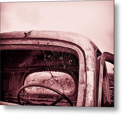 Metal Print featuring the photograph Too Old To Drive by Mary Hone