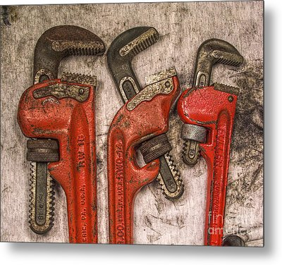 Tools Of The Trade Still Life Metal Print by Randy Steele