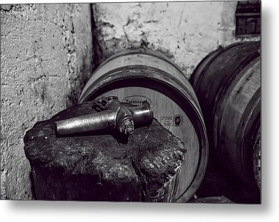 Tools Of The Trade - Wine Making Metal Print by Georgia Fowler