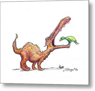 Toothache Metal Print by Mark Johnson