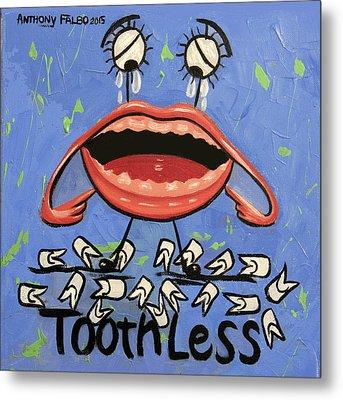 Toothless Metal Print